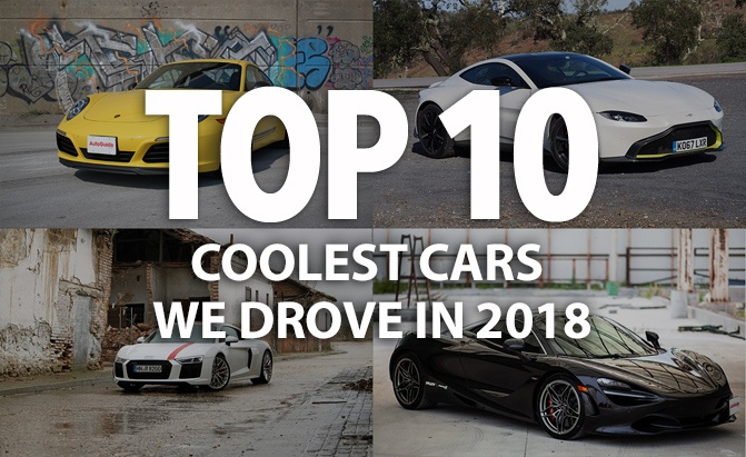 Top 10 Coolest Cars We Drove in 2018