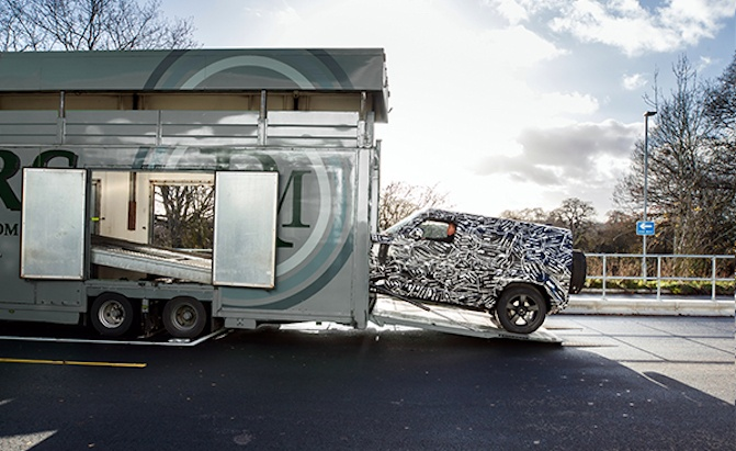The New Land Rover Defender Is Coming Very, Very Soon