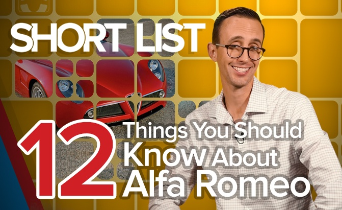 12 Things to Know About Alfa Romeo