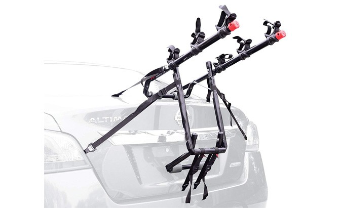 allen sports deluxe trunk mount 3 bike carrier