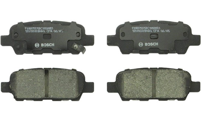 bosch quietcast premium ceramic rear disc brake pad set