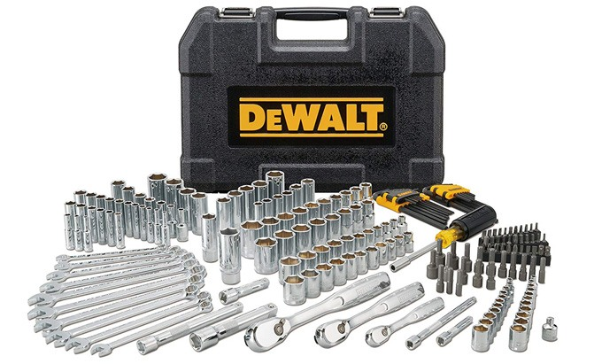 dewalt 205 piece mechanics tool set