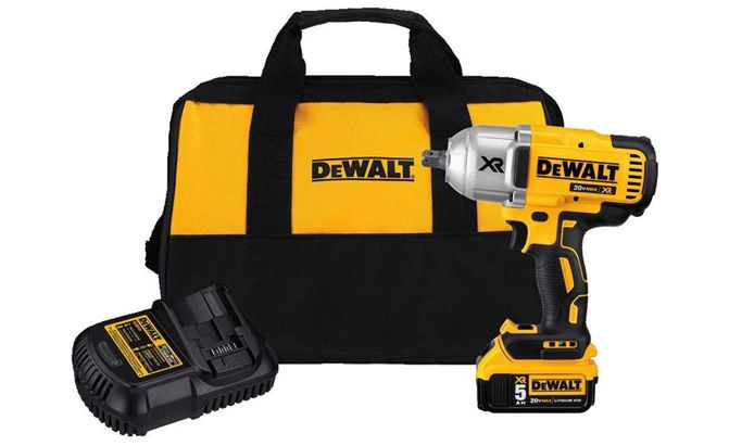 dewalt 20v max xr bushless high torque impact wrench kit