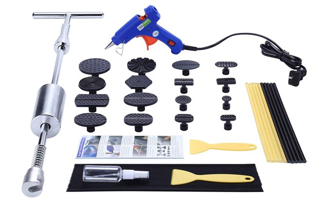 gliston paintless dent repair remover kit