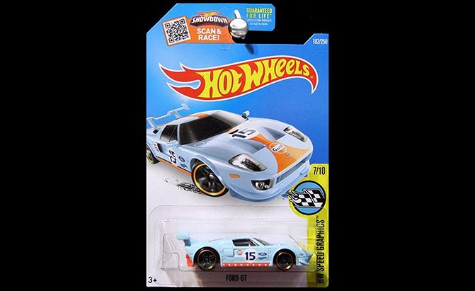 hot wheels ford gt gulf oil
