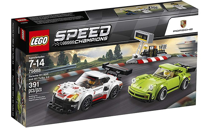 lego speed champions porsche 911 rsr and 911 turbo 3.0