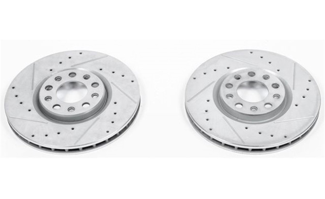 power stop evolution brake rotors