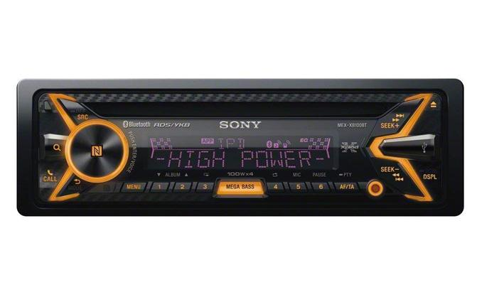 sony single din bluetooth in dash stereo