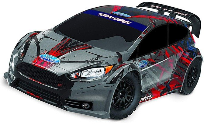traxxas awd ford fiesta st rally race car