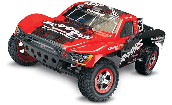 traxxas slash 2wd short course racing truck