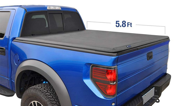 tyger auto t3 tri-fold truck bed tonneau cover