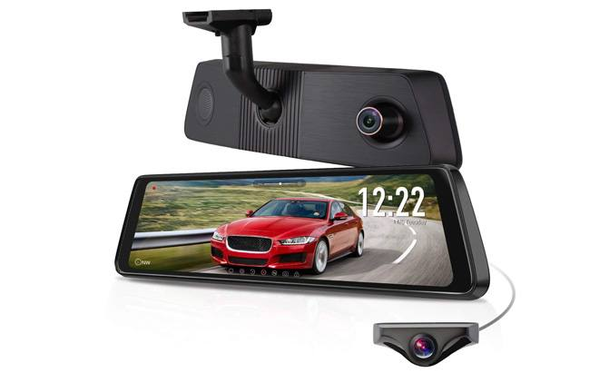 x1pro rear view mirror dash cam