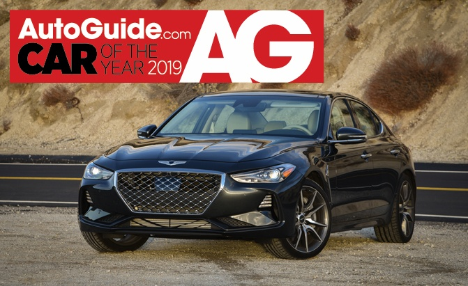 2019 Genesis G70 is AutoGuide Car of the Year