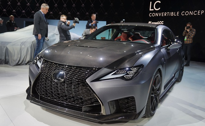 2020 Lexus RC F Track Edition is Not an LFA, But at Least It's Trying