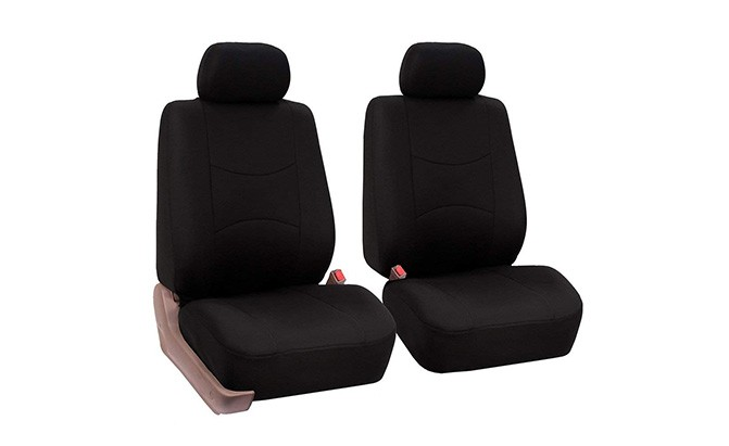 FH GROUP Car Seat Covers Full Set Black