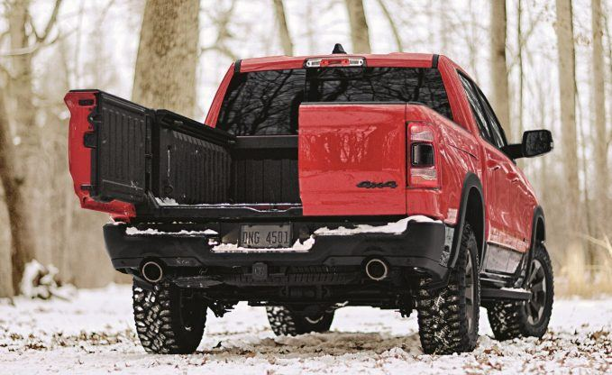 Ram Introduces 60:40 Barn Door Tailgate for the 1500