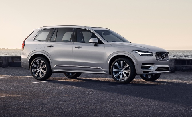 Refreshed Volvo XC90 Lineup Gets New Mild Hybrid Model