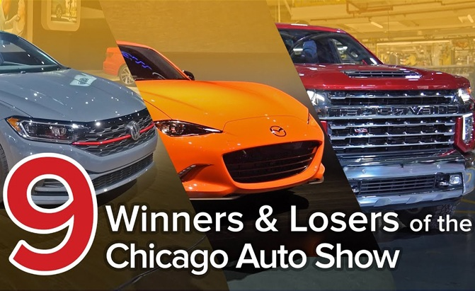 2019 chicago auto show winners losers