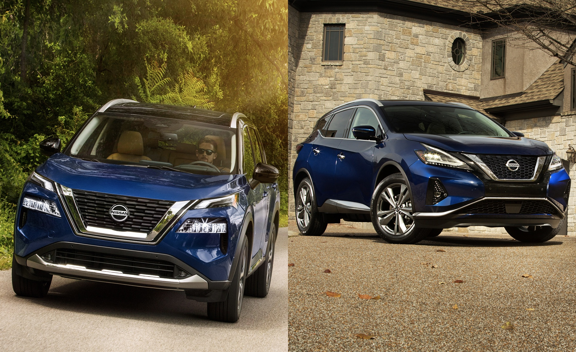 2021 Nissan Rogue vs Nissan Murano Comparison