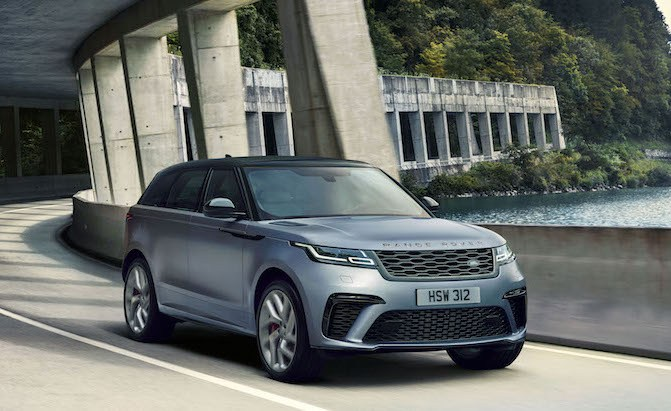 You Can Now Get the Range Rover Velar With a Massive 542 HP V8