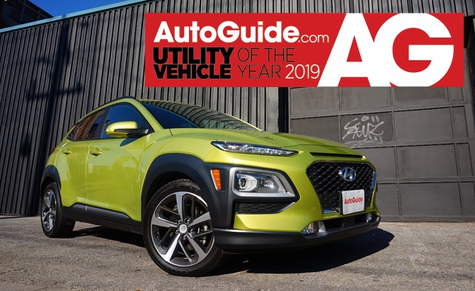 hyundai kona utility vehicle of the year 2019