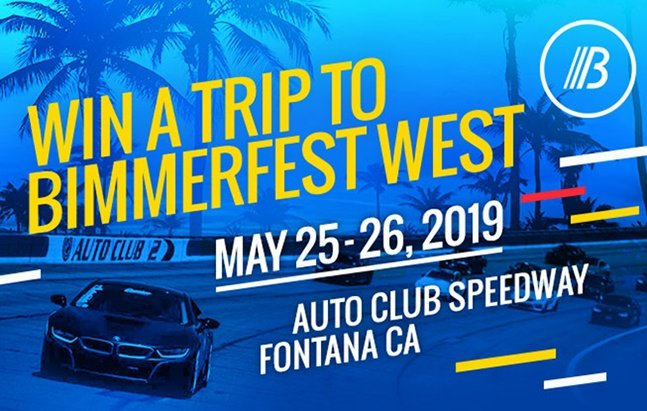 Win a Trip for 2 to Bimmerfest West 2019