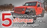Why the Four-Cylinder Hybrid is the Best Powertrain in the Jeep Wrangler