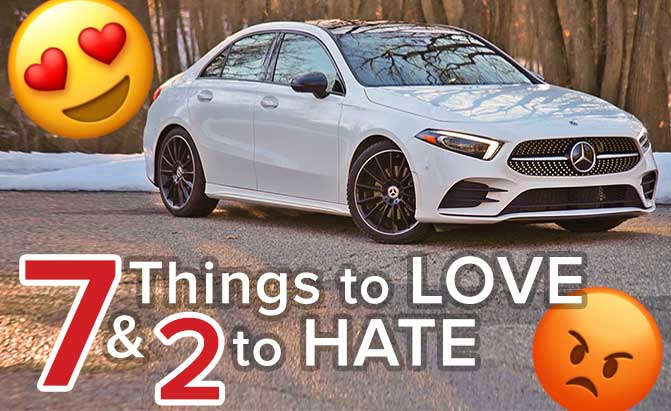 2019 Mercedes A-Class: 7 Things to Love and 2 to Hate – The Short List