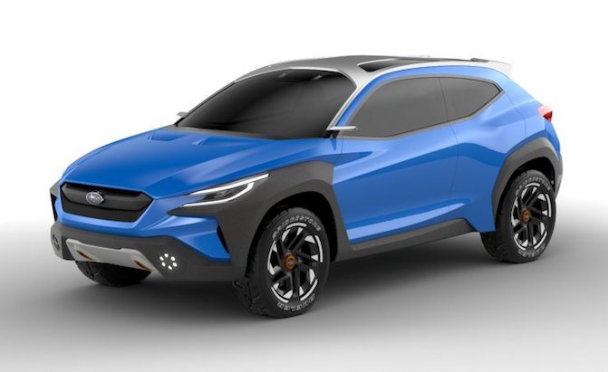 Subaru Goes Bolder with Viziv Adrenaline Concept, Debuts New Hybrid Models