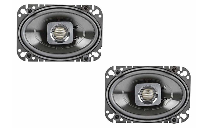 polk audio 4x6 db+ 2-way coaxial speakers db462