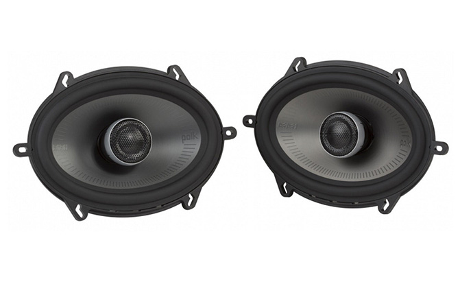 polk audio 5x7 mm1-series coaxial speakers