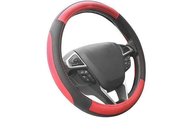 seg direct microfiber leather steering wheel cover