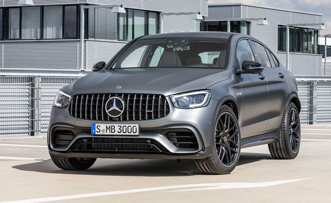 2020 Mercedes-AMG GLC 63 Models Gain MBUX Infotainment System, Fresh Look