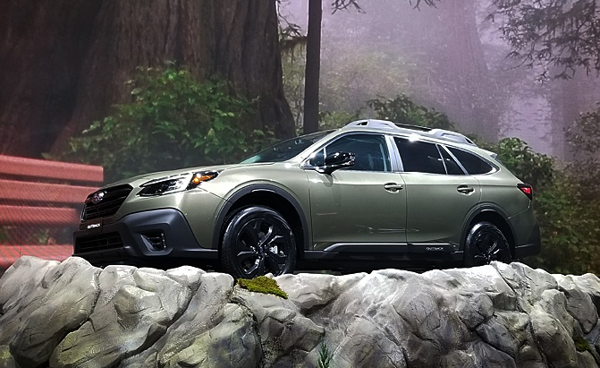 2020 Subaru Outback Debuts with Turbo Engine and Huge Touchscreen