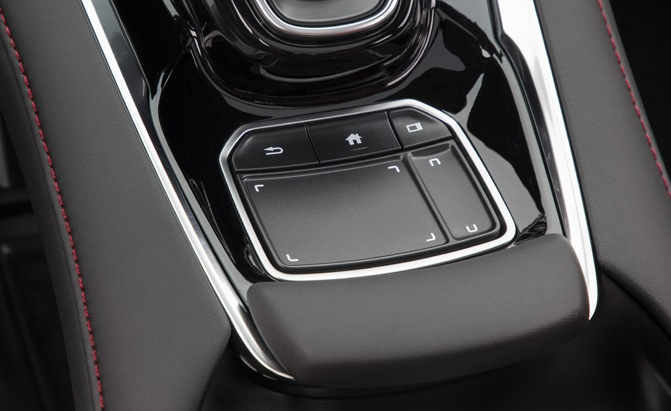 2019 Acura RDX Infotainment True Touchpad