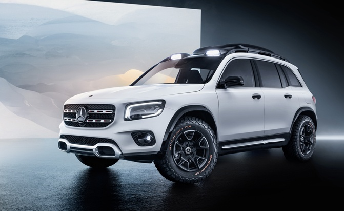 Mercedes GLB Concept is Not the Tiny G-Wagen We Hoped For
