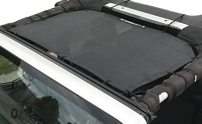 alien sunshade jeep wrangler mesh shade top cover