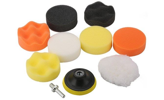 fontic compound drill buffing sponge pads kit