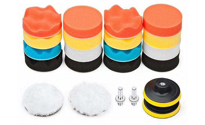 petutu car foam drill polishing pad kit