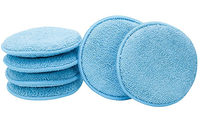 viking car care microfiber applicator pads