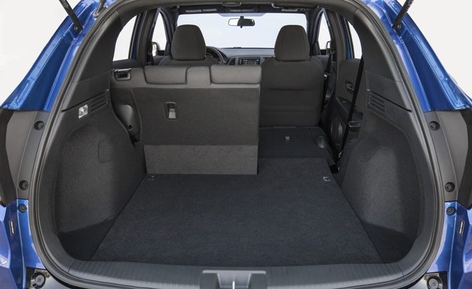 2019 Honda HR-V Trunk