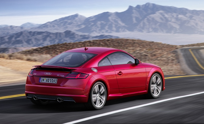Audi TT to Be Replaced by Electric Car