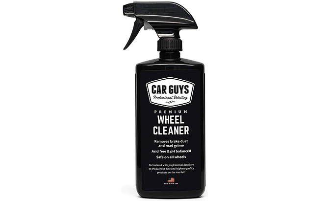 carguys premium wheel and tire cleaner