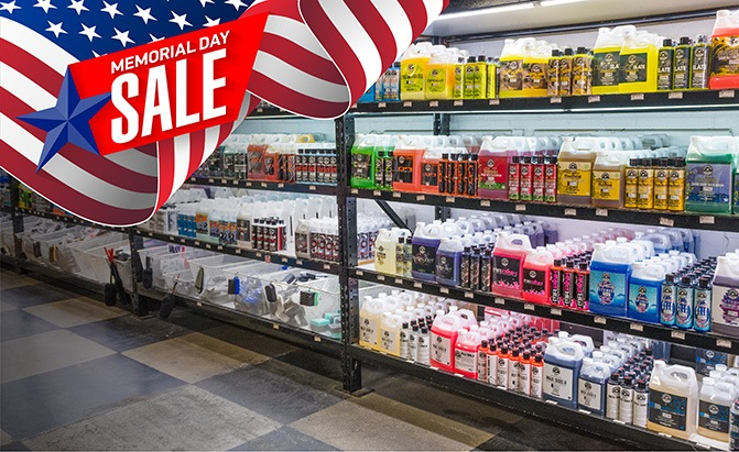 chemical guys memorial day sale