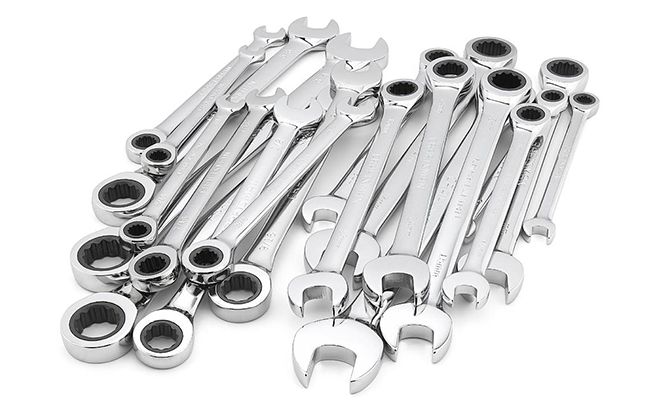 craftsman 20-piece ratcheting combination wrench set