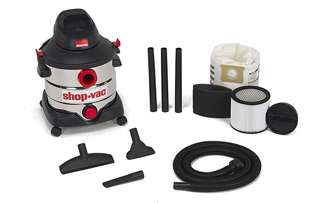 shop-vac stainless wet/dry vacuum