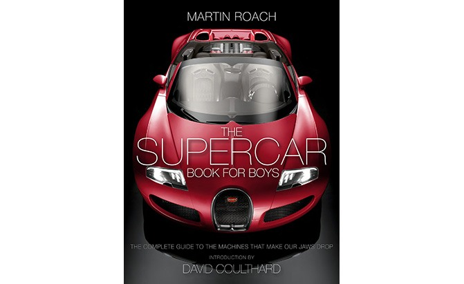 the supercar book for boys