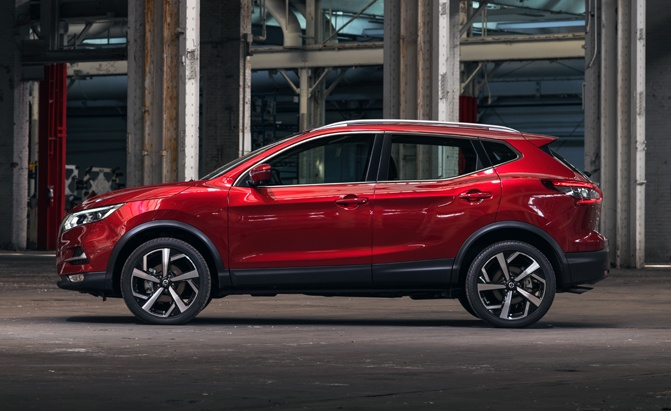 2020 Nissan Rogue Side