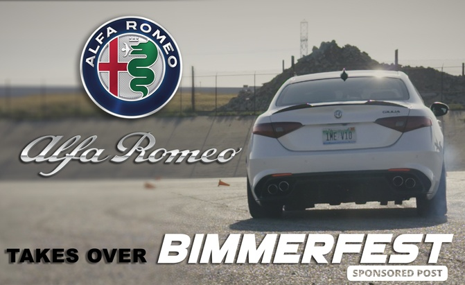 We decided to answer that question at Bimmerfest, the world's largest private BMW owners gathering, where Alfa Romeo sponsored the autocross event.