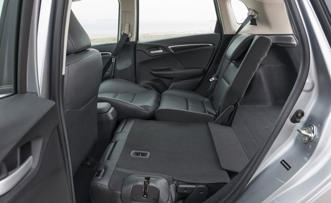 2019 Honda Fit Magic Seats